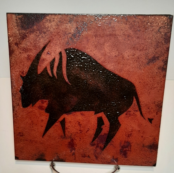 Barbara Culp enamel copper